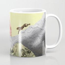 The mountain lion Coffee Mug