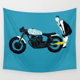 loud pipes Wall Tapestry