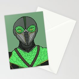 The Walking Serpent Stationery Cards