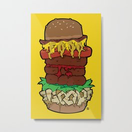 Food Is Good Metal Print