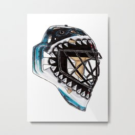 Heyward - Mask Metal Print