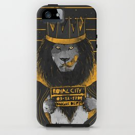 Royal Mugshot iPhone Case