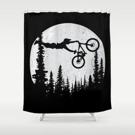 MTB Moon Shower Curtain