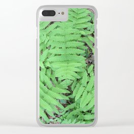 Fern From Above Clear iPhone Case