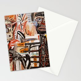 A vectorised Basquiat Stationery Cards