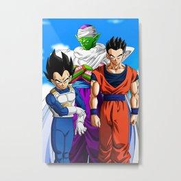 Piccolo Dragon Ball Super  Metal Print