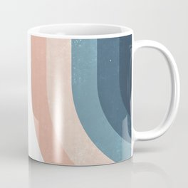 70s Rainbow Coffee Mug