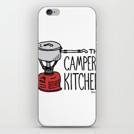 The Camper's Kitchen iPhone Skin