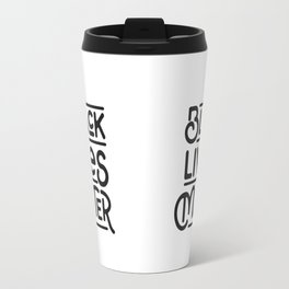 Black Lives Matter Travel Mug