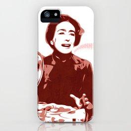 Joan Crawford - Aaaahhhh!!! - Pop Art iPhone Case