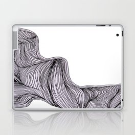 Abstract organic line drawing doodle 3 Laptop & iPad Skin