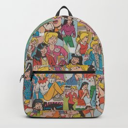 Betty and Veronica Collage Backpack