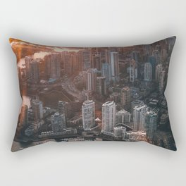 ARCHITECTURE - BIRD - S - EYE - VIEW - BUILDINGS - PHOTOGRAPHY Rectangular Pillow