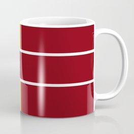 Team Colors 6....Maroon,yellow Coffee Mug
