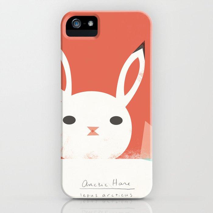 Arctic Hare iPhone Case
