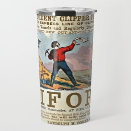 A New and Magnificent Clipper for San Francisco. Merchant's Express Line of Clipper Ships! Travel Mug