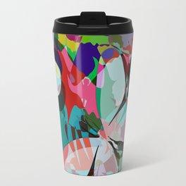 Butterflies abstract Travel Mug