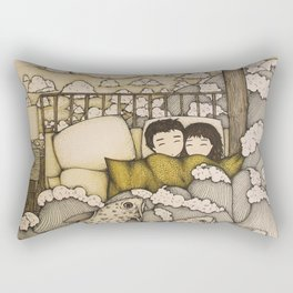 swept away & stranded Rectangular Pillow