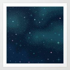 Marine Starlight Art Print