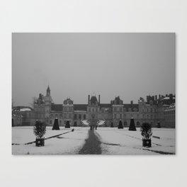 Chateau Fontainebleau Canvas Print