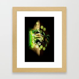 Witch Pinup Framed Art Print