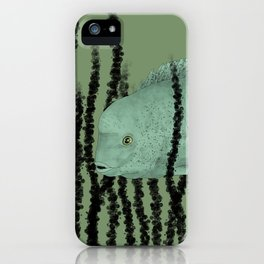 Under water Funky Fish iPhone Case