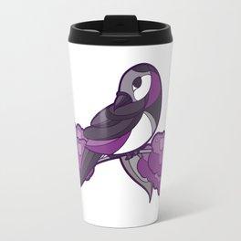 Pride Birds - Asexual, Demisexual, Grey-Asexual Travel Mug