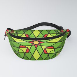 Poinsettia Flower Fanny Pack