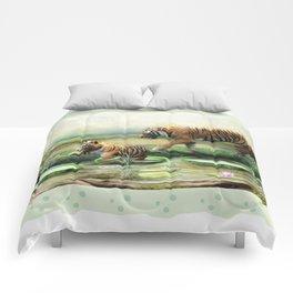Tiger Lilies Comforters