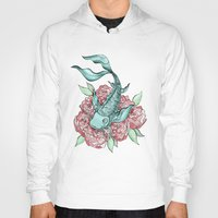 koi fish Hoodies featuring Koi Fish by Bare Wolfe