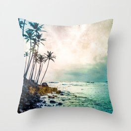 Nice View Throw Pillow