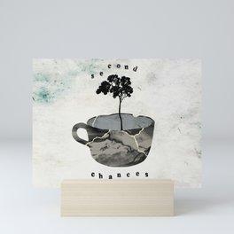 Second Chances Kintsugi Tree Pottery Mini Art Print