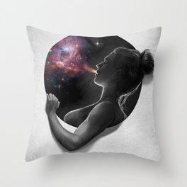 Breath : Porthole Series Throw Pillow