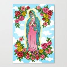 Maria De Los Muertos Canvas Print
