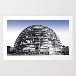 Reichstag Dome | Norman Foster Art Print