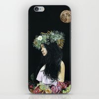 serenity iPhone & iPod Skins featuring Serenity by Melissa Hartley