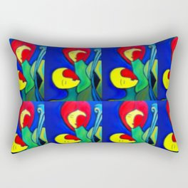 Triumph of Love (ORIGINAL SOLD) #society6 #decor #buyart Rectangular Pillow