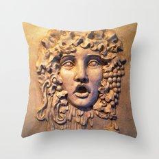 Gothic Grotesque Throw Pillow