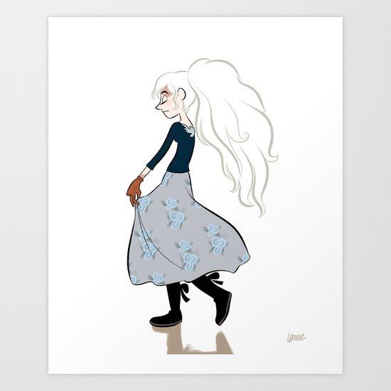 Lilith. Art Print
