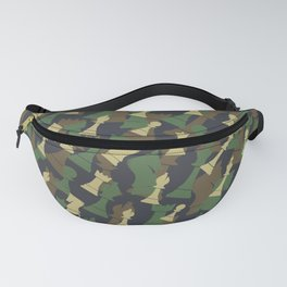 Chess Camo WOODLAND Fanny Pack