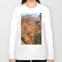 utah Long Sleeve T-shirts featuring UTAH HOODOOS by RENA16