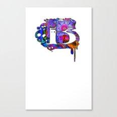 B beta Canvas Print