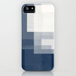 Case Study No. 30 | Navy + White iPhone Case