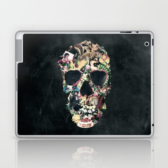 Vintage Skull Laptop & iPad Skin