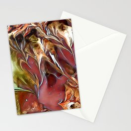 Frosted Fall Digital Manipulation Stationery Cards