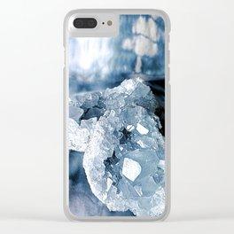 Celestite Clear iPhone Case