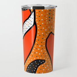 Whales - aboriginal Travel Mug