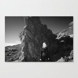Volcanic View Canvas Print