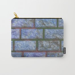 Painted Brick Carry-All Pouch