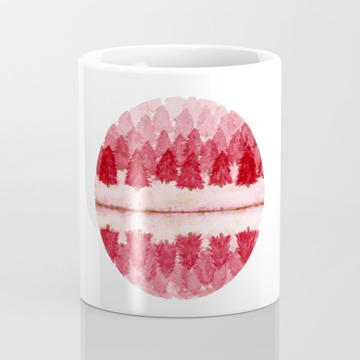 Red Forest Coffee Mug